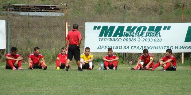 Подготвителни натпревари на Фк Вардар У 17 .