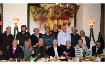 собирот на легендите на ОК Вардар после 35 години од освојувањето на титулите во Југославија.