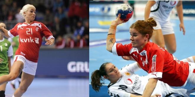 Супер засилувања ! Данските репрезентативки Кристијансен и Граволт нови Вардарки