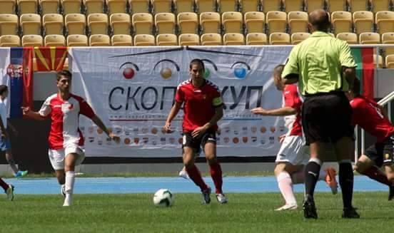 Кристијан Апостоловски: Како капитен сум задоволен од играта и формата на мојата екипа.