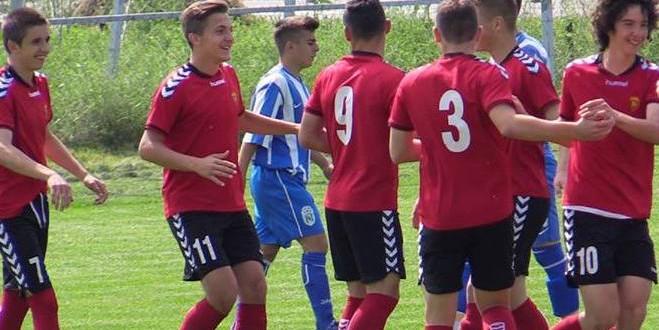 Три бода за младинците на Фк Вардар, од гостувањето во Струмица