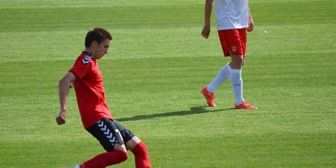Димков е херојот за младинците на Фк Вардар, кои се пласираа во 1/4 на купот