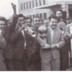На шампионите им е приреден пречек на железничката станица во Скопје