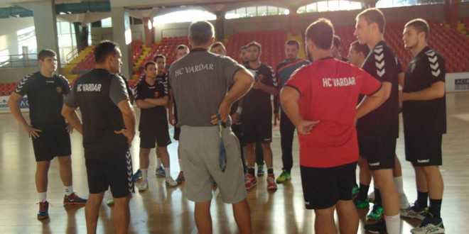 (ФОТОГАЛЕРИЈА) РК Вардар Јуниор се подготвува за новата сезона