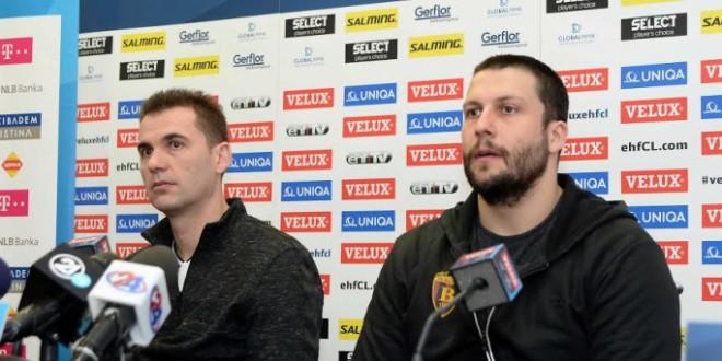Гонзалес и Стоилов: Ние сме фаворити, но Кристијанштад  е незгоден противник