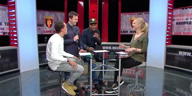 (Видео) Вардар ТВ гости: Фелипе и Балотели