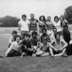 Роза Вацева (горе, лево), Весна Вацева (долу, десно), 1974 година, Скопје
