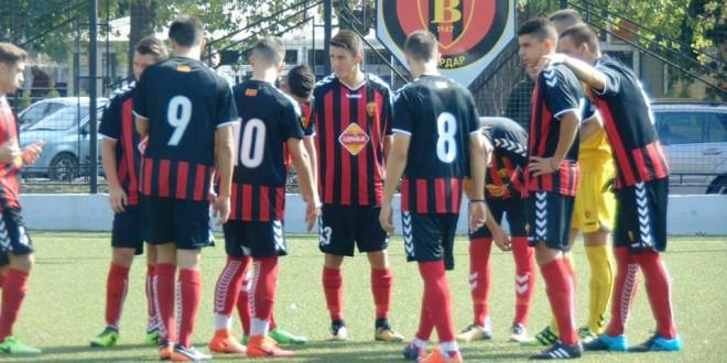 Младинците на ФК Вардар го финишираа есенскиот дел на второто место, но со големо заостанување зад лидерот Шкендија