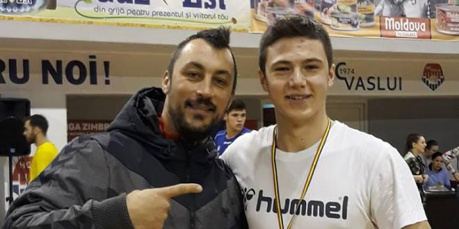 Марко Кизиќ од Вардар е најдобар голман на турнирот во Романија, на кој настапи кадетската репрезентација на Македонија