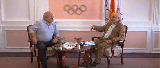 """Борење: Ацо Јордановски гостин во емисијата """"Македонски спортски легенди"""" (Видео)"""