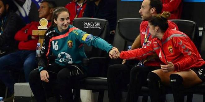Јована Мицевска: За еден млад голман како мене од голема важност е да има покрај себе личности, како што се Лејно и Суслина, задоволството и привилегијата се мои, што ги имам токму нив за учители и соиграчи