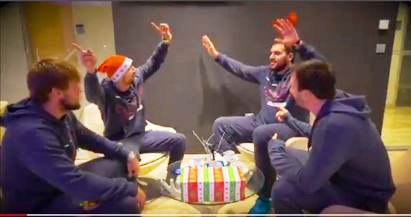 (ВИДЕО) Екипите од СЕХА-лигата со честитки за Нова година и Божиќ