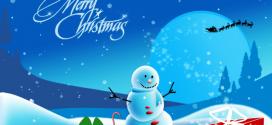 Среќен Божиќ на сите кои го празнуваат овој празник!