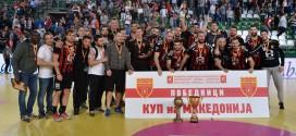 (ФОТО) Вардар го крена 13 трофеј во купот на Македонија