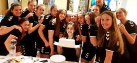(Фото+Видео) Роденденски подарок за кадетката Дамјановска во Никшиќ и прослава на 1/2финалето