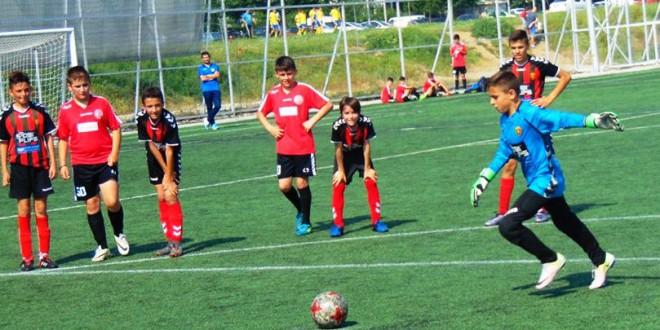 Преглед на шесттото пролетно коло во детската фудбалска лига