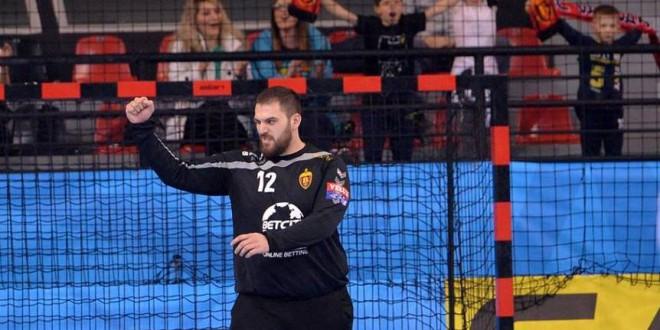 Страхиња Милиќ во ТОП-5 најдобри голмани во СЕХА-лигата, според бројот на одбранети удари