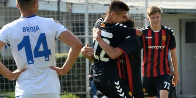 Давид Велковски: Среќен сум што после кратко време поминато во клубот имав шанса да дебитирам за првиот тим на Вардар