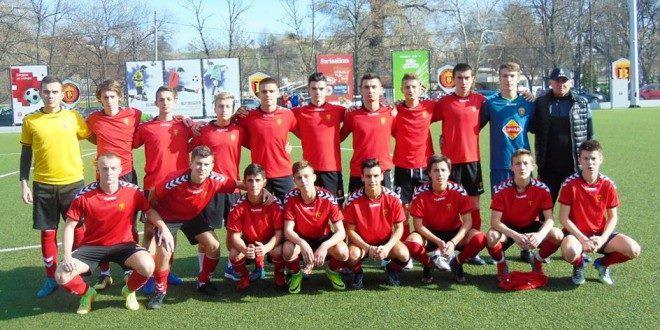 Пионерскиот тим на Вардар одигра нерешено со Железничар на турнирот во Сараево