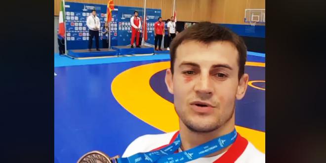 (ВИДЕО) Македонската химна ечеше во Шпанија, Нуров го прими златниот медал