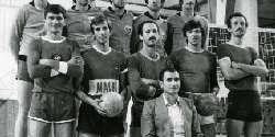 Одбојкарскиот клуб Вардар е најуспешниот клуб од С.Д Вардар за време на Југославија