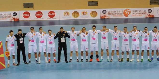 Пет играчи од РК Вардар имаа придонес во освоеното четврто место на кадетската репрезентација