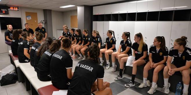 Младинките на Вардар со 34+ го совлада Шампион, црвено-црните дојдоа до 3/3 во лигата