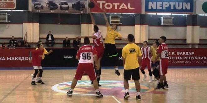"""(Фотогалерија) Во младинска кошаркарска лига """"ВАРДАР"""" се одига 2.коло"""