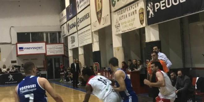 """КК Вардар обезбеди опстанок, падна Охрид во гости, денес домашен дуел со """"фенерџијата"""" Шкупи"""