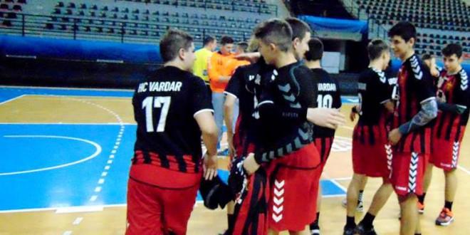 Пионерите на РК Вардар дел од меѓународен турнир организиран од РК Илинден Вардар