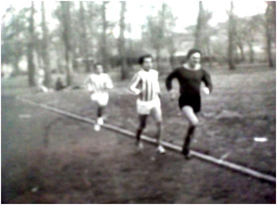 Трајковски Момчило, Бошковиќ Мирослав и Ацковски Благоја, на военото игралиште