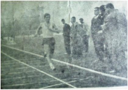 Сотир Гавриловски влегува во целта