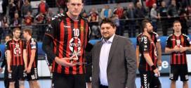 Кристопанс е прогласен за најдобар играч на мечот Вардар – Веспрем
