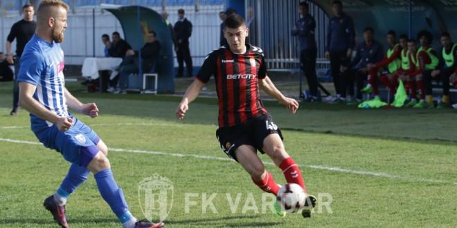 Џемал Ибиши: Потписот за првиот тим на ФК Вардар е мојот најголем успех, голема мотивација за понатамошно напредување