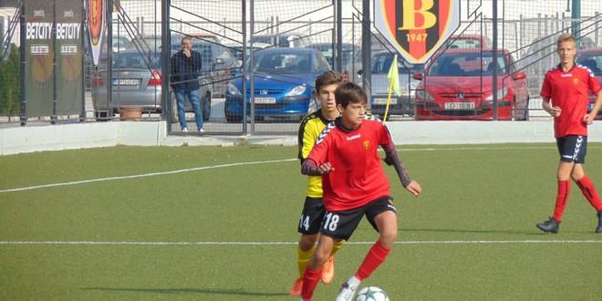 Пионерските екипи на ФК Вардар славеа на гостувањето кај Македонија Ѓ.П