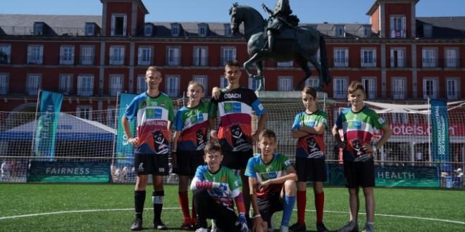 """Големо признание за вардаровиот """"бисер"""" , Лука Јаневски прогласен за најдобар голман на настанот """"Фудбал за пријателство"""" кој се одржа во Мадрид"""