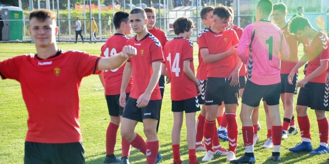 Вардаровите играчи активни за Македонската селекција до 16 години, која одигра две контроли против Азербејџан