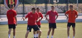 (Фотогалерија) Пионерите на ФК Вардар под водство на Гаге стартуваа со тренинзи