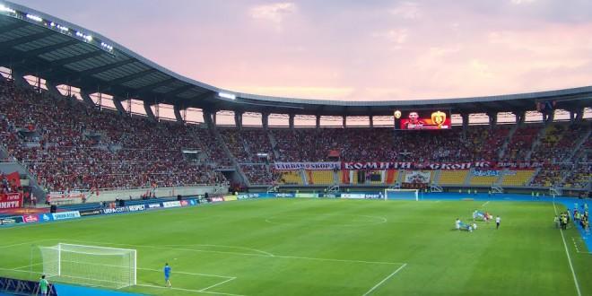 На денешен ден 2012, Вардар играше пред 30. илјади гледачи против Бате