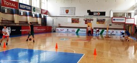 (ФОТО) Нема одмор за кошаркарските надежи на Вардар, се работи и преку лето во две сали