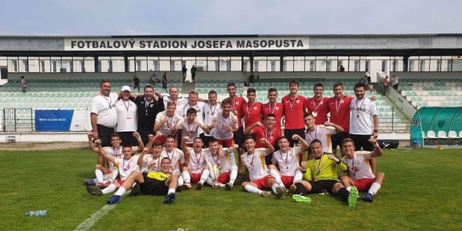Македонија У18 освои трето место на турнирот во Чешка, дел од националниот дрес беа и шест играчи од Вардар