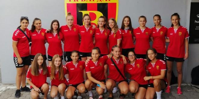 Пионерките на Вардар четврти на турнирот во Белград