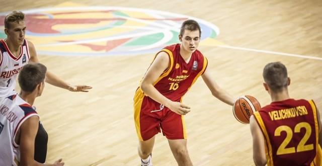 Кошарка: Кадетите на Македонија по поразот од Русија ќе се борат за пласман од 9 до 16.место