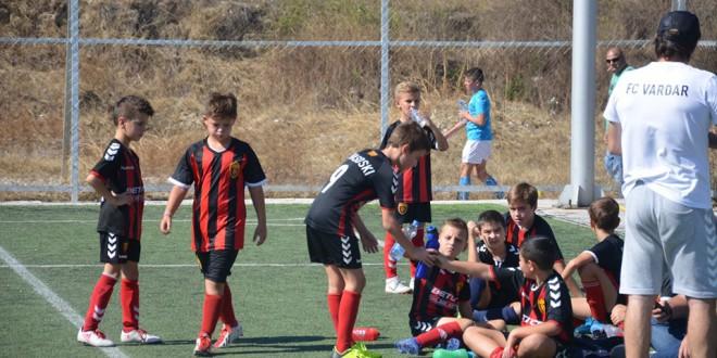 Две победи за момците на Колев, ФК Вардар ген.2010  одлична  во Детската лига