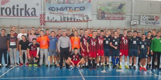 """Пионерите на РК Вардар го освоија турнирот """"7-ми септември"""" во организација на РК Делчево"""