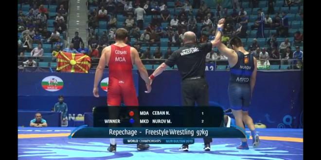 """Денес е негов ден! По олимписката норма, вардарецот  Нуров не израдува и со """"бронза"""" од СП"""