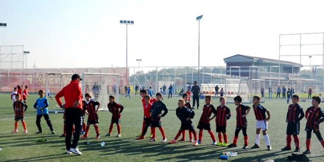 (Фотогалерија) ФК Вардар ген.2011 во средата одигра два меча во Детската лига