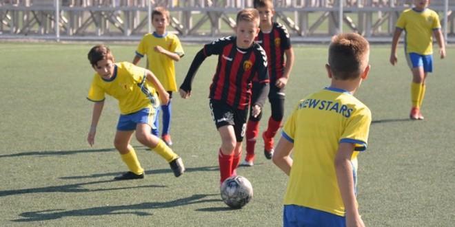 Победа и нерешен резултат во детската лига за генерација 2009