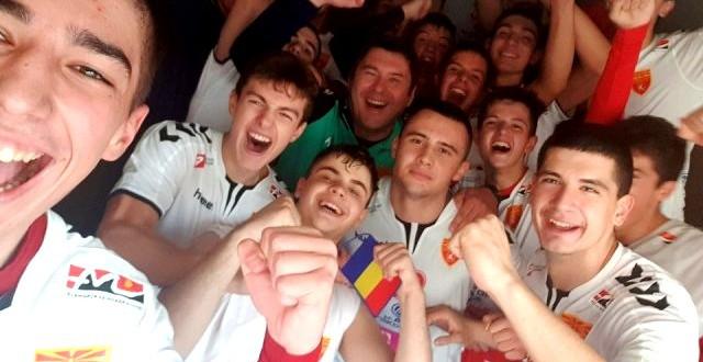 Вардарци со значаен придонес во победата над Романија, голема победа за македонската кадетска селекција