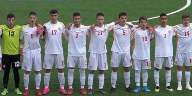Горјан Цветков стартер на сите три натпревари за У15 репрезентацијата, Кулуковски дебитираше во националниот дрес
